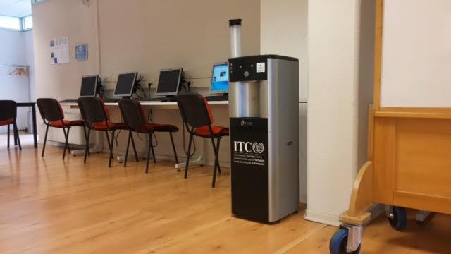 dispenser acqua da ufficio al CIF di Torino - Acqualys