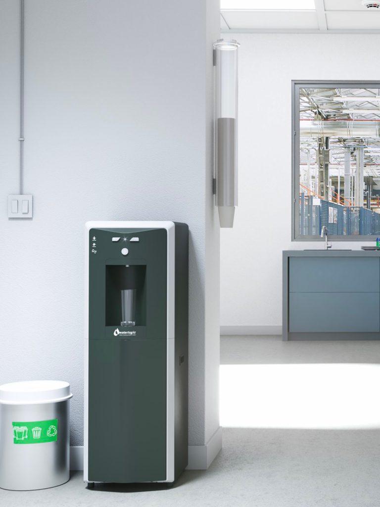 Dispenser, Distributori e Erogatori d'acqua a rete idrica | ACQUALYS